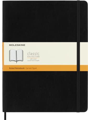 Moleskine Soft Extra Large Ruled Notebook (19 x 25cm) By Moleskine