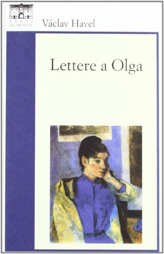 Lettere a Olga By Vaclav Havel