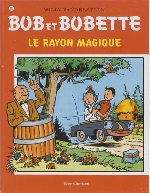 Le rayon magique (Bob et Bobette) By Willy Vandersteen