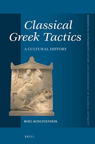 Classical Greek Tactics By Roel Konijnendijk
