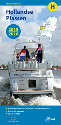 ANWB Waterkaart H Hollandse Plassen 2015/2016 By ANWB