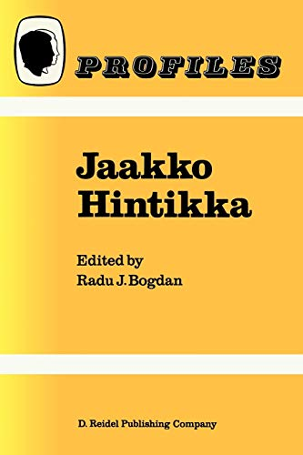 Jaakko Hintikka By R. Bogdan