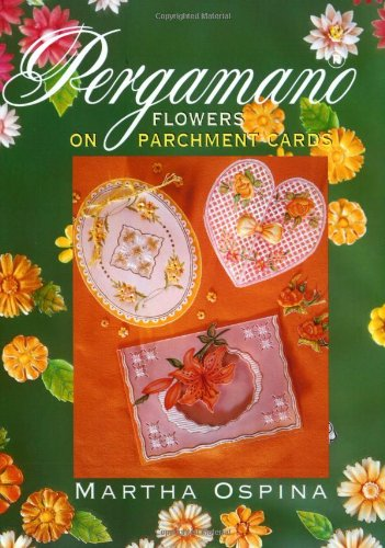 Pergamano Flowers on Parchment Cards By Martha Ospina