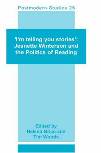 `I'm Telling you Stories' By Volume editor Helena Grice