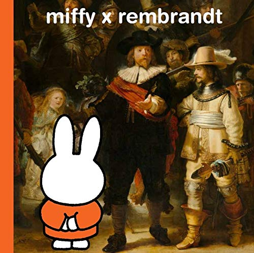 miffy x rembrandt By the Rijksmuseum