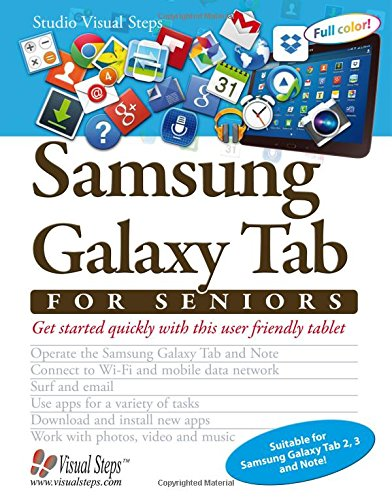 Samsung Galaxy Tab for Seniors By Studio Visual Steps