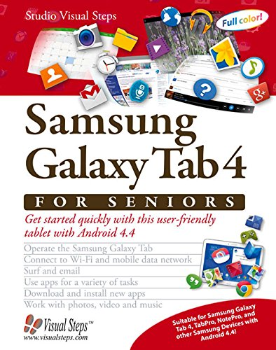 Samsung Galaxy Tab 4 for Seniors By Studio Visual Steps