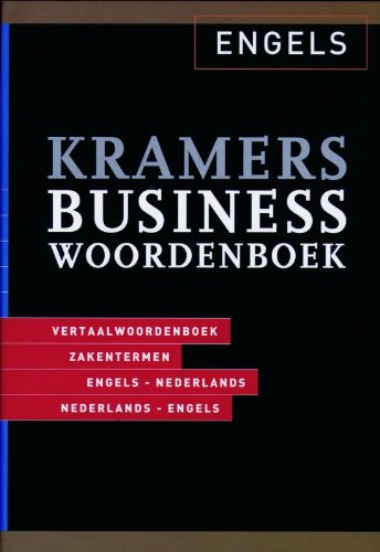 Kramers Business Dictionary By H. Coenders