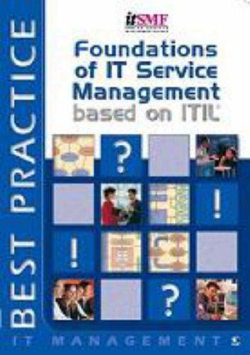 Foundations of IT Service Management By Jan Van Bon