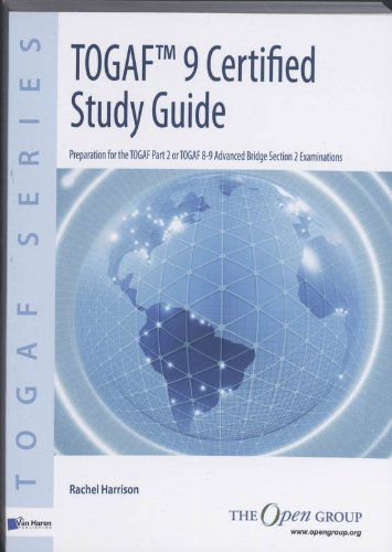 TOGAF 9 Certified Study Guide By The Open Group