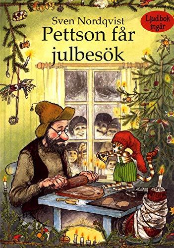 Pettson får julbesök (+ CD) (Pettson och Findus) von Sven Nordqvist