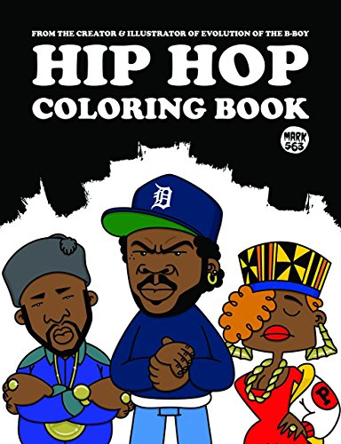 Hip Hop Coloring Book By Mark 563