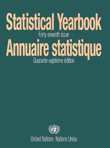 Statistical Yearbook/Annuaire Statistique By United Nations