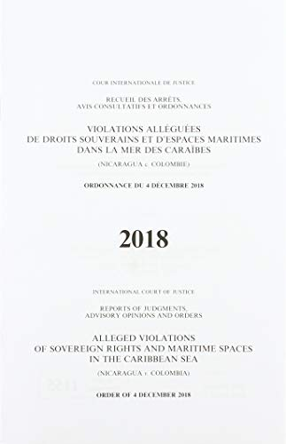 Alleged violations of sovereign rights and maritime spaces in the Caribbean Sea By International Court of Justice