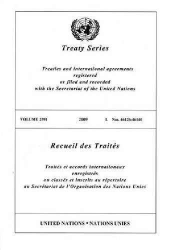 Treaty Series 2591 By United Nations