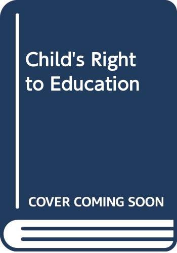 Child's Right to Education By International Bureau of Education