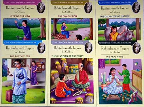 Rabindranath Tagore for Children Series Set 3 (Classic Stories from Master Storytellers) By NA