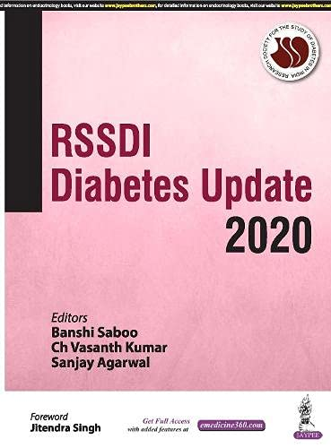 RSSDI Diabetes Update 2020 By Banshi Saboo