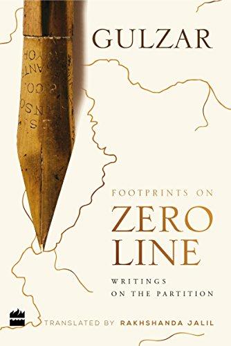Footprints on zero line By Gulzar