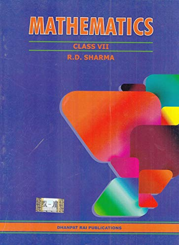 MATHEMATICS CLASS VII By Sharma Rd