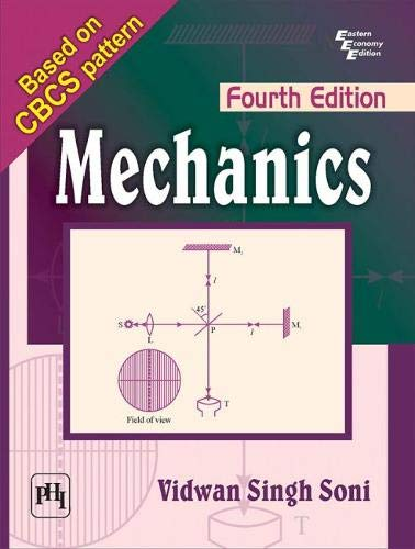 Mechanics By Vidwan Singh Soni