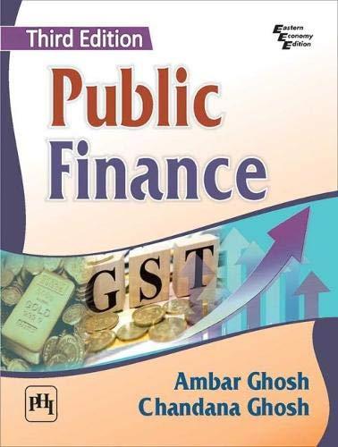 Public Finance By Ambar Ghosh
