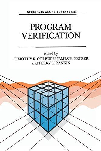 Program Verification By Timothy T.R. Colburn