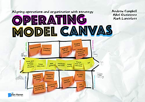 Operating Model Canvas: aligning operations and organization with strategy By Edited by Van Haren Publishing