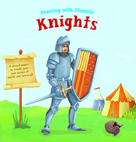 Drawing with Stencils: Knights and castles By Yoyo Books