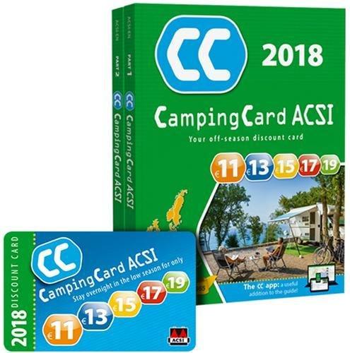 CampingCard 2018 20 countries By ACSI Publishing BV