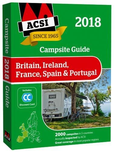 Campsite Guide 2018 By Acsi Publishing BV