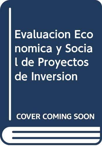 Evaluacion Economica y Social de Proyectos de Inversion By Raul Castro Rodriguez