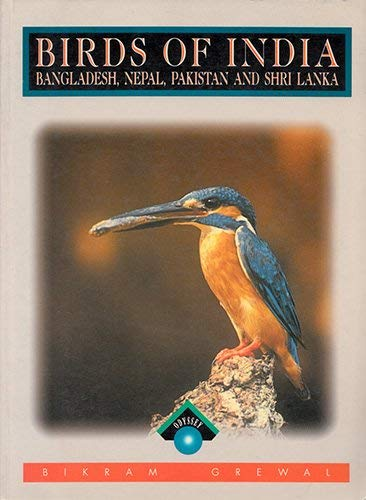 Illustrated Guide to Birds of India By Bikram Grewal