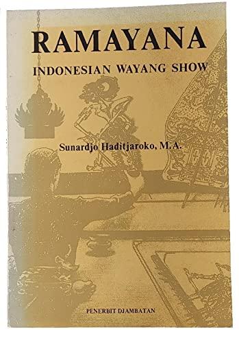 Title: Ramayana Indonesian Wayang Show By M.A. Sunardjo Haditjaroko