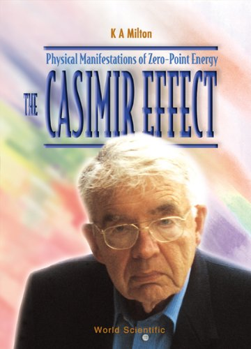 Casimir Effect, The: Physical Manifestations Of Zero-point Energy By K. A. Milton