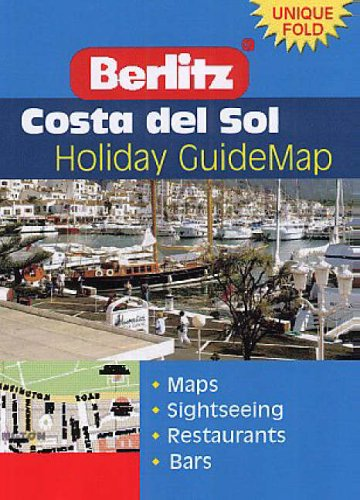 Costa Del Sol Berlitz Guidemap By Unknown