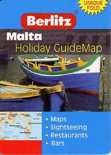 Malta-Berlitz-Guidemap-Berlitz-Holiday-Z-Guidemaps-9812466088-The-Cheap-Fast