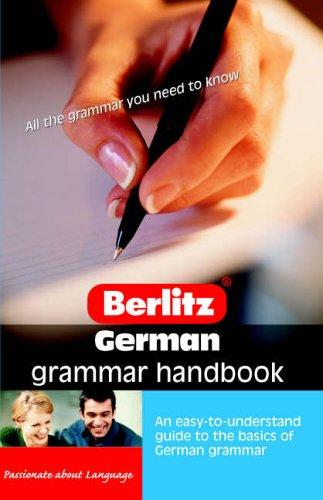 German Grammar Berlitz Handbook By Christopher Wightwick