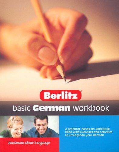 Basic German Berlitz Workbook By Berlitz Guides
