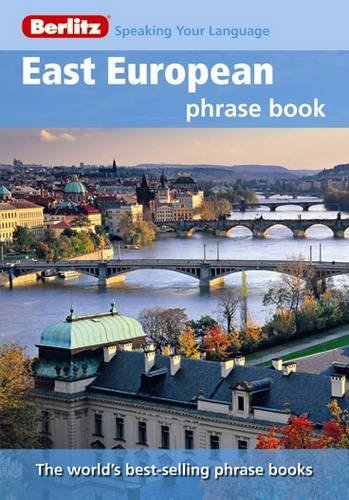 Berlitz: East European Phrase Book & Dictionary by