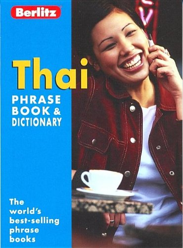 Thai Berlitz Phrase Book by Berlitz Guides