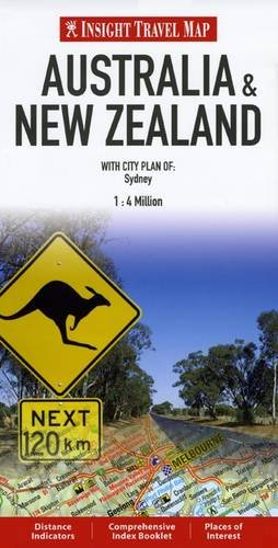 Insight Travel Maps: Australia & New Zealand by Unknown Author