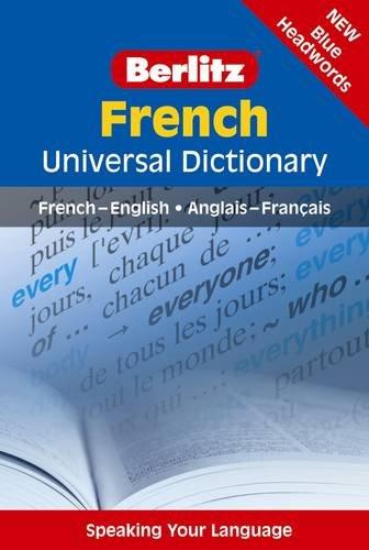 Berlitz: French Universal Dictionary By Berlitz