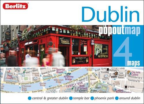 Dublin Berlitz PopOut Map By Berlitz