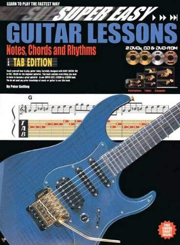 Super Easy Guitar Lessons By Peter Gelling