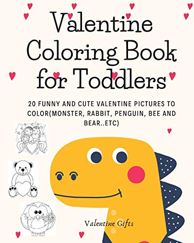 Valentine Coloring Book for Toddlers By Alexander Westover