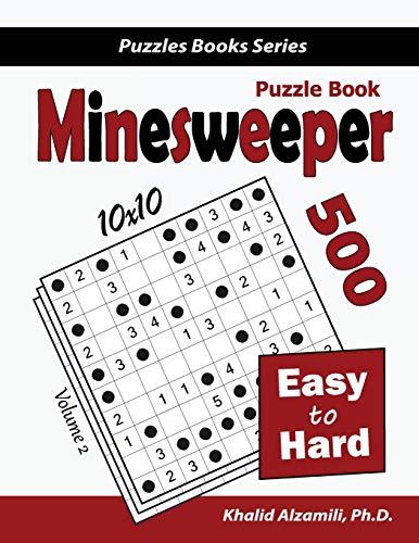 Minesweeper Puzzle Book By Khalid Alzamili