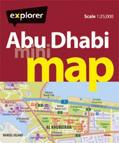 Abu Dhabi Mini Map By Explorer Publishing and Distribution