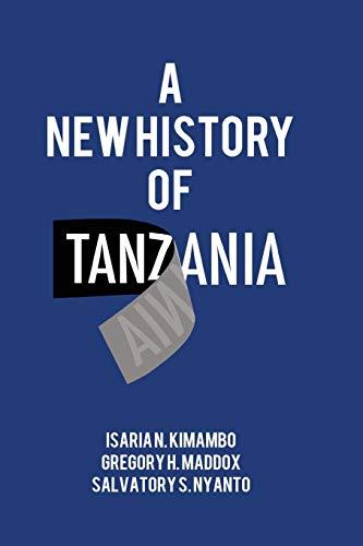 A New History of Tanzania By Isaria N Kimambo