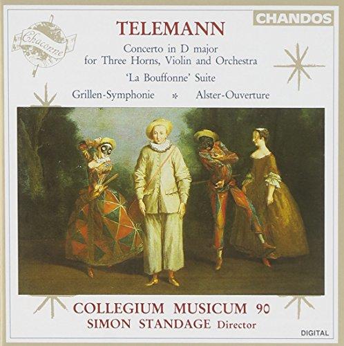 Telemann: Concerto in D; La Bouffonne Suite; Grillen-Symphonie; Alster-Ouverture